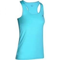 Débardeur fitness cardio femme bleu clair MY TOP Energy
