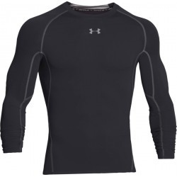 1006N-TEXT PERF TSHIRT MC COMPRES H  homme UNDER ARMOUR ARMOUR HG LS T