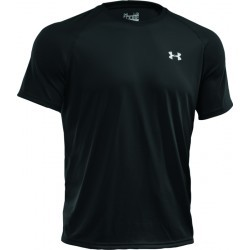 1001N-TEXT PERF TSHIRT MC H  homme UNDER ARMOUR UA TS MC TECH NR