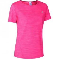 T-Shirt manches courtes Gym Energy fille rose