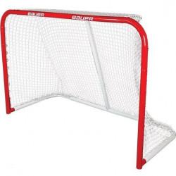 Bauer but de hockey sur glace Pro Steel 137 x 51 x 112 cm rouge