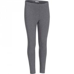 Legging fitness fille gris