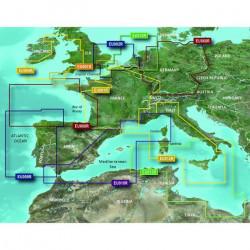 Carte BlueChart G2 Regular EU004R - Mer d'Irlande  GARMIN