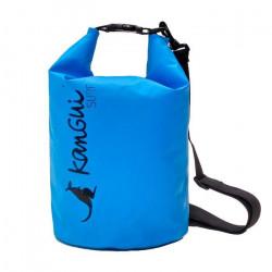 Sac étanche imperméable 10L - DRY BAG Bleu. Sac de rangement pour Activités de Plein Air et Sports Aquatiques: Paddle Kayak