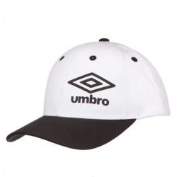 UMBRO Casquette Homme Bicolore - Blanc / Noir