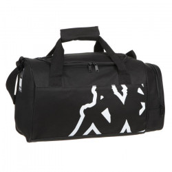 KAPPA Sac de Sport Veliza - Taille XS - Noir et Blanc