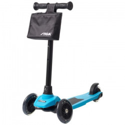 STIGA Trottinette à 3 roues SUPREME + - Bleu