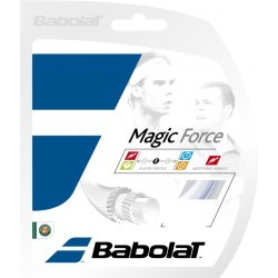 CORDAGE TENNIS   BABOLAT MAGIC FORCE J 135 BLANC