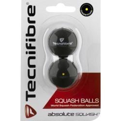BALLE DE SQUASH   TECNIFIBRE BALLES SQUASH 1 POINT