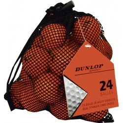 PGA TOUR FILET DE 20 BALLES ORANGES NEU