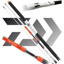 2 pcs. Daiwa Sealine X`treme Travel Interline à fil intérieur, 2,13m, 30-40lbs, 3 brins
