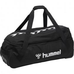HUMMEL CORE TROLLEY SAC DE SPORT A ROULETTES NOIR Taille S