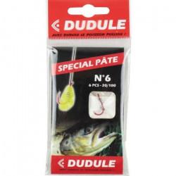 DUDULE Hameçons Montés Spécifiques ROYAL FISH SPECIAL PATE A Truite N 6