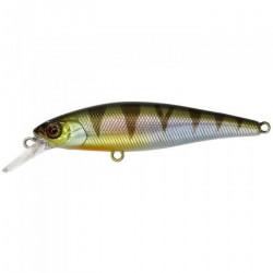 Leurre Illex Squad Minnow 65 HW - longueur:6.5 poids (g):10.8 couleur:FG Green back Silver profondeur de nage:0.50-1.20 type de