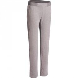 Pantalon basic Gym & Pilates femme gris chine moyen