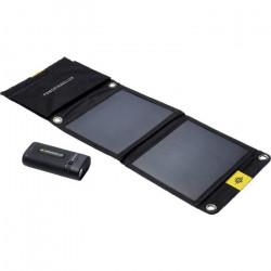 Chargeur solaire Li-Ion Power Traveller Powerbank Sport 25 Solar Kit PTL-SPK025 1400 mA 6700 mAh