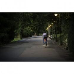 Sigma Sport Batterie LED éclairage pour Vélo Nugget II, 400m Feu Arrière visibilité, Rechargeable, STVZO (, Noir