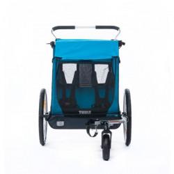 Thule Coaster - Remorque velo enfant - bleu