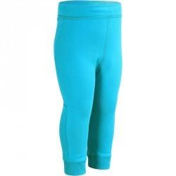 Pantalon chaud Gym baby bleu