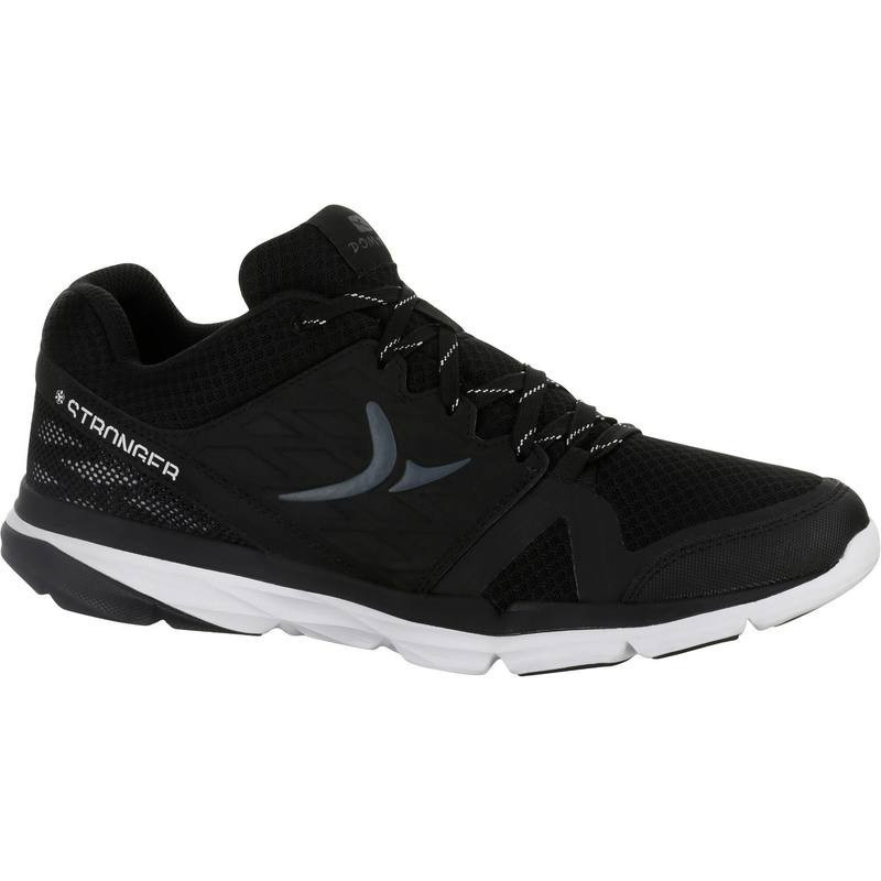 Chaussure de cross training homme noir blanc Strong 500