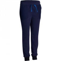 Pantalon chaud slim Gym garçon bleu marine