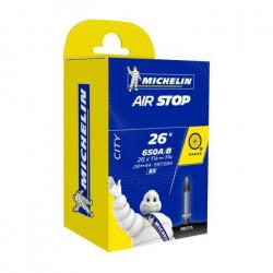 Chambre A AIR Velo Michelin 650x35B 650x35A 26- (28/44-584/597) B3 Valve Presta 29MM AIRSTOP Butyl Ville VTC VTT