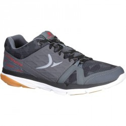 Chaussure de cross training homme gris rouge Strong 500