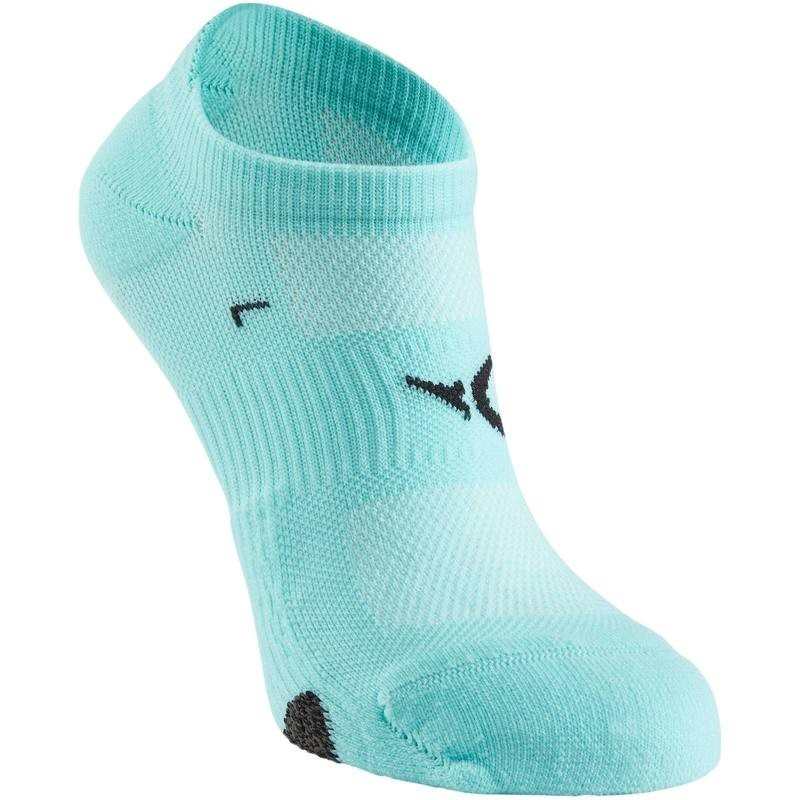 Chaussettes invisibles fitness x2 rose Domyos