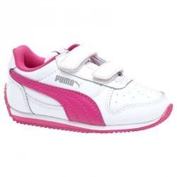 Chaussures gym bébé fille roses