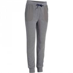 Pantalon chaud slim Gym garçon gris