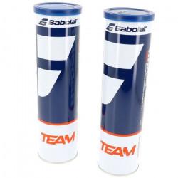 Balles de tennis Bipack team   jne - Babolat UNI Jaune