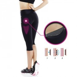 Corsaire réduction cellulite fitness femme noir Shape Booster