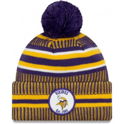Bonnet NFL Minnesota Vikings New Era On Field 2019 Violet