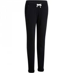 Pantalon slim Gym & Pilates  femme noir
