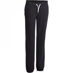 Pantalon regular Gym & Pilates  femme noir