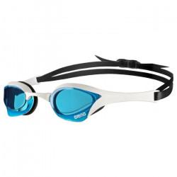 Arena - 1E033 - Lunettes de Piscine - Mixte Adulte - Bleu (Blanc/Transparent) - Taille unique