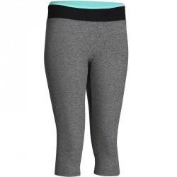 Corsaire fitness cardio femme gris chiné... 7,99 €. Legging 7 8 fitness  cardio femme noir ceinture contrastée ENERGY 0d36adab5375