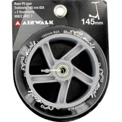 ROUES   AIRWALK ROUE TROT + RLTS ABEC 7  - 145MM - 82A