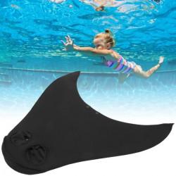 DUO Palmes de natation Palmes de plongée monobloc avec queue de baleine Swim Flipper Foot (type enfant)