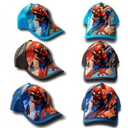 Casquette Spiderman 50 a 54 cm enfant Vendu a l'unite GUIZMAX