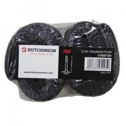 Hutchinson - CV657181 - Chambres à Air (Lot de 2) - Noir - 700x28-35