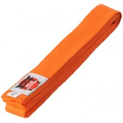 METAL BOXE CEINT JUDO ORANGE 200 CM