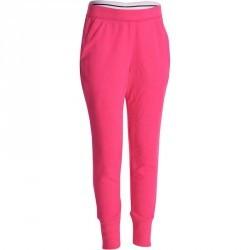 Pantalon chaud slim imprimé Gym fille rose
