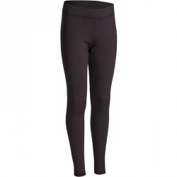 Legging chaud Gym Energy fille noir