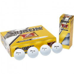 Srixon Z-Star - Balles de golf - Couleur: Bianco - Lot de 12