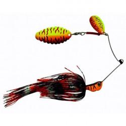 Suissex Spinnerbait Target Blade Fire Tiger