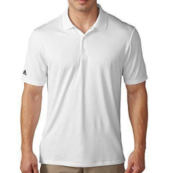 adidas  Performance Polo pour Homme, White, L, ae4744 - AE4744/Large