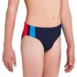 Maillot de bain garçon SLIP BASICYOKE bleu rouge