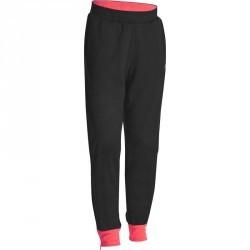 Pantalon chaud slim Gym Energy fille noir