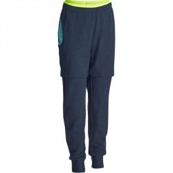 Pantalon chaud slim Gym Energy fille bleu marine